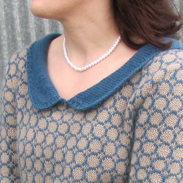 Ravelry: Downton Pullover pattern by Amy Keefer