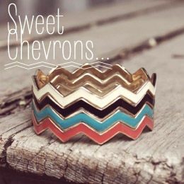 Vintage & Bohemian Inspired Affordable Women's Clothing & Accessories, www.spool72.comSweets Affordable, Stacked Bracelets, Affordable Jewelry, Clothing Accessories, Chevron Rings, Jewelry Accessories, Woman Clothing, Chevron Bracelets, Chevron Stacked