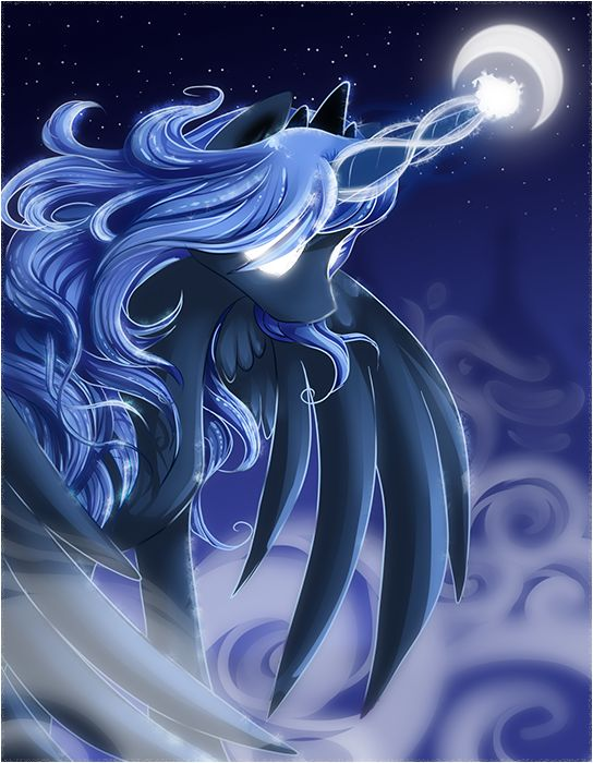 Princess Luna by ShadowKiro.deviantart.com on @deviantART