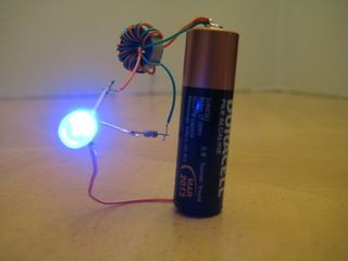 Yes, it's the infamous Joule Thief, in Instructable form! For those of you who don't know, the Joule Thief is a tiny little circuit that allows you to drive...