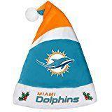 Miami Dolphins Basic Santa Hat - 2016
