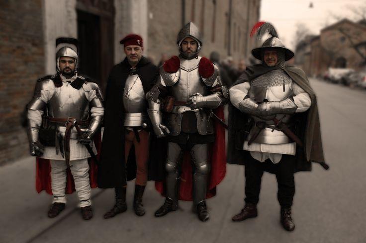 Compagnia d'Arme del Santo Luca, Ferrara 14 febbraio 2015