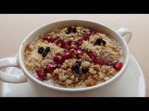 ▶ Turkish Ashure Recipe | Asure Recipe | Noah's Pudding - YouTube