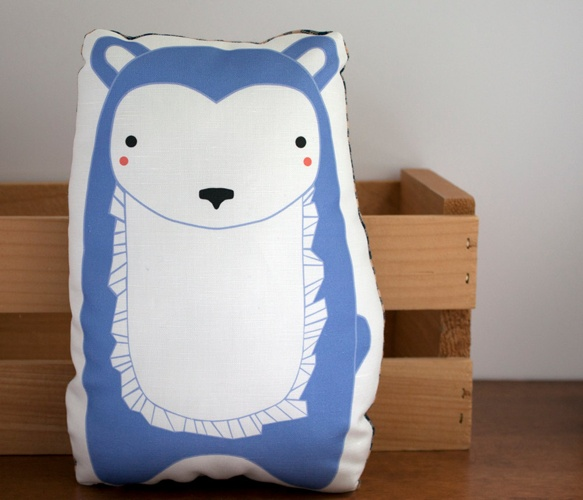 Plush Bear Pillow  by GingiberBears Hug, Bears Minis, Crafts Things, Foxes Pillows, Baby Room, Periwinkle Blue, Blue Bears, Plush Bears, Bears Pillows