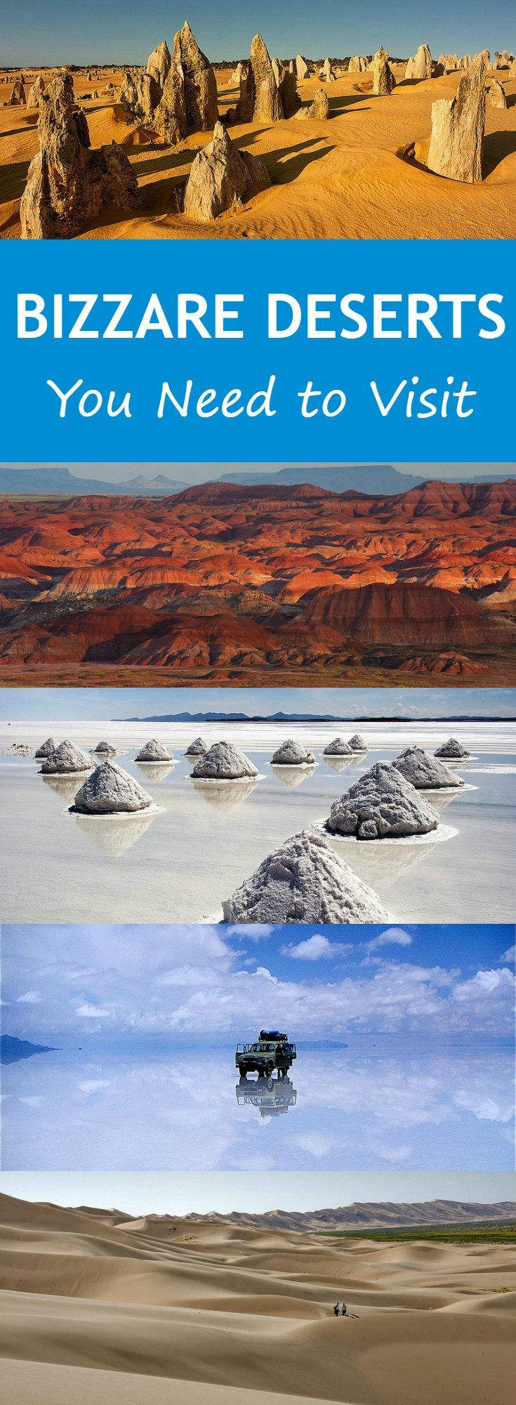 Bizarre and Unique Deserts You Need to Visit