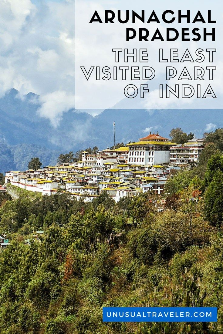 Arunachal Pradesh is more similar to Nepal and China than India. Arunachal Pradesh is one of the seven sister states in North East India, and the last one you need a permit to visit.
