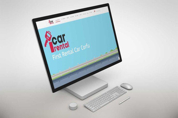 Κατασκευή ιστοσελίδας Κέρκυρα , Έρμονες , 1carental.com , Onesmart Promotion