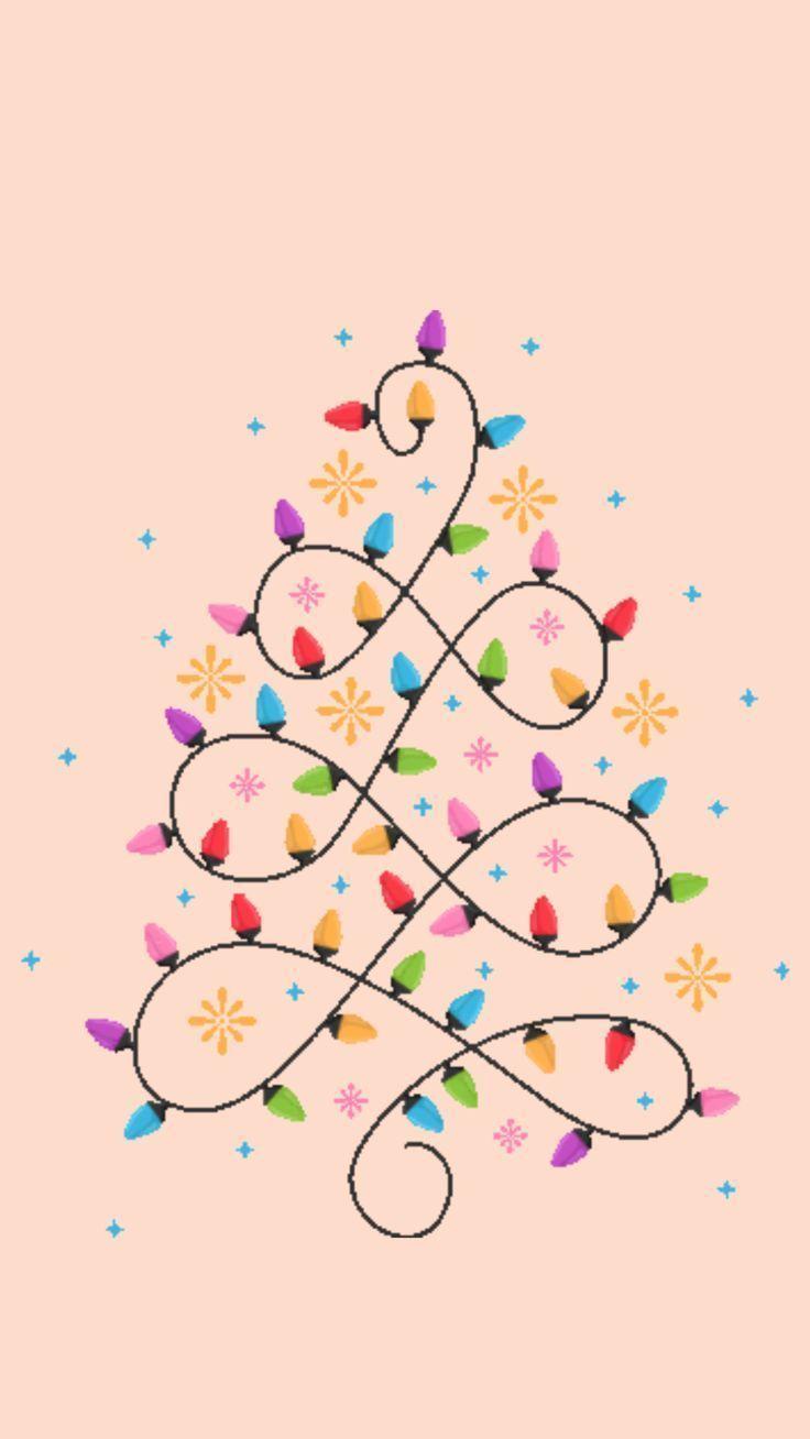 Art Christmas Lights Phonebackgroundstumblrlights Print Solemnly Swirl Chr In 2020 Wallpaper Iphone Christmas Christmas Phone Wallpaper Cute Christmas Wallpaper