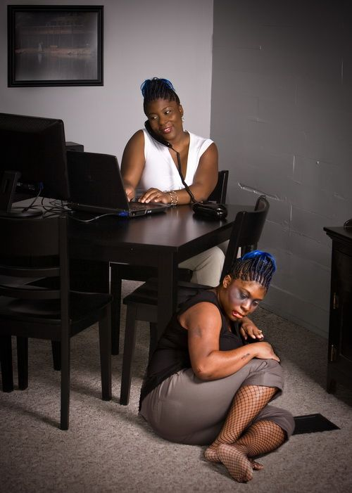 Dawn and Que's Alter Ego Photoshoot by Derek Blanks