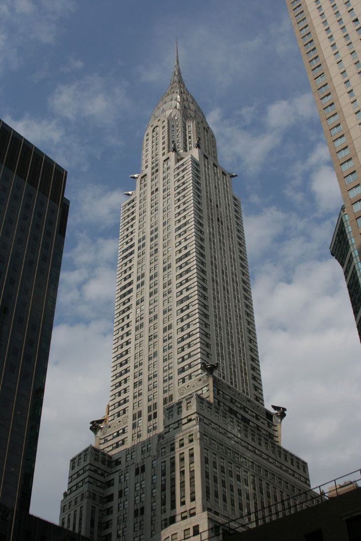 Best Architecture Nyc Chrysler Building Images Pinterest New