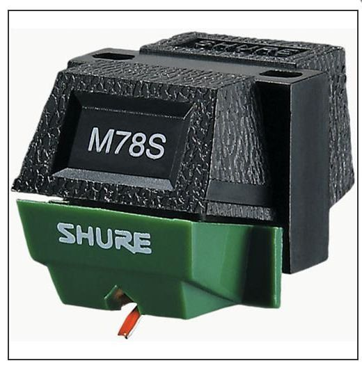 SHURE M78S 78 RPM PHONO TURNTABLE CARTRIDGE ORIGINAL for Record Players
