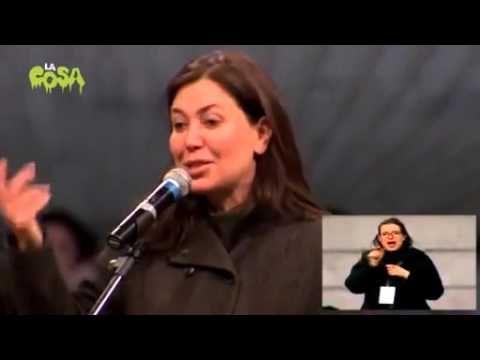 Sabina Guzzanti alla Notte dell'Onestà   INTEGRALE   MoVimen