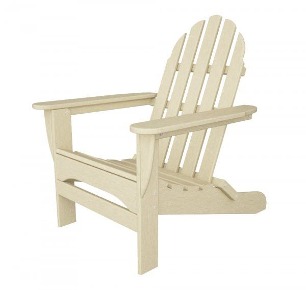 "POLYWOOD Adirondack Chair (Sand) (35.75""H x 29.00""W x 35.75""D)"