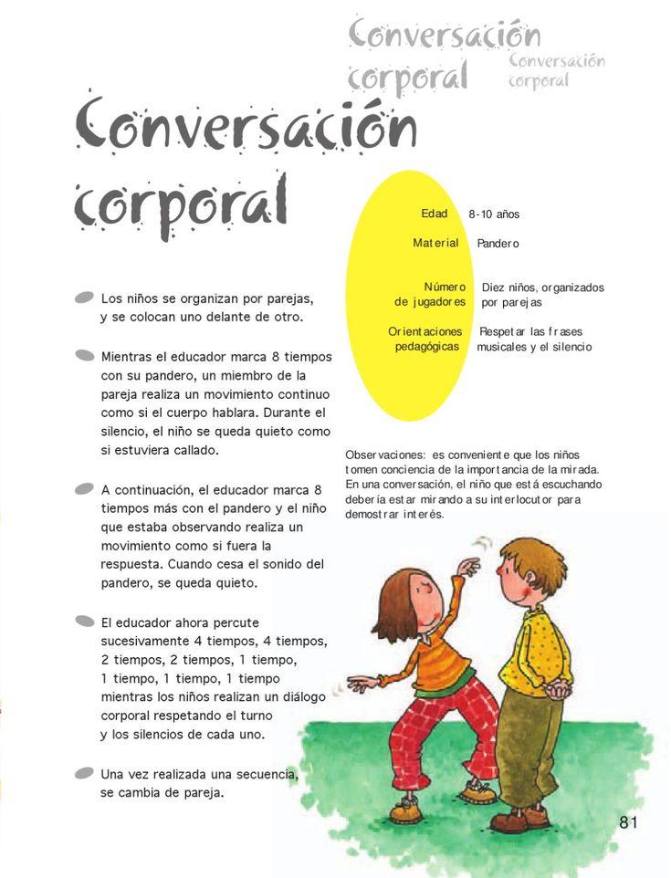 Juegos - Juegos de música y expresión corporal by Jose Carlos Escobar - issuu