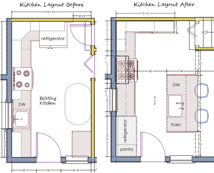 Kitchen Floor Plan 203 best kitchen dreams: layout images on pinterest | kitchen