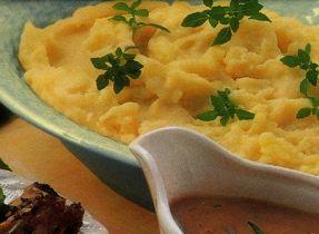 Purée de pommes de terre et de chou-fleur au fromage