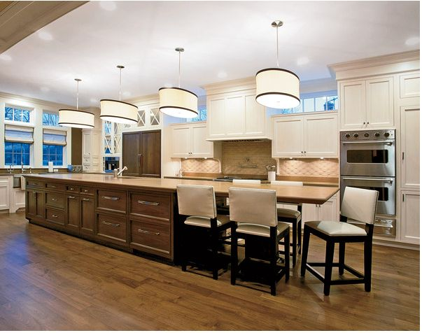 long kitchen island best 25 kitchen island seating ideas on 3851
