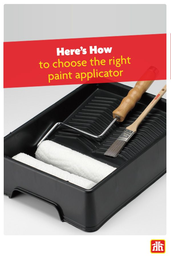 Painting like a pro starts with the type of applicators you use. Achieve a professional finish with less work with these simple painting tips!