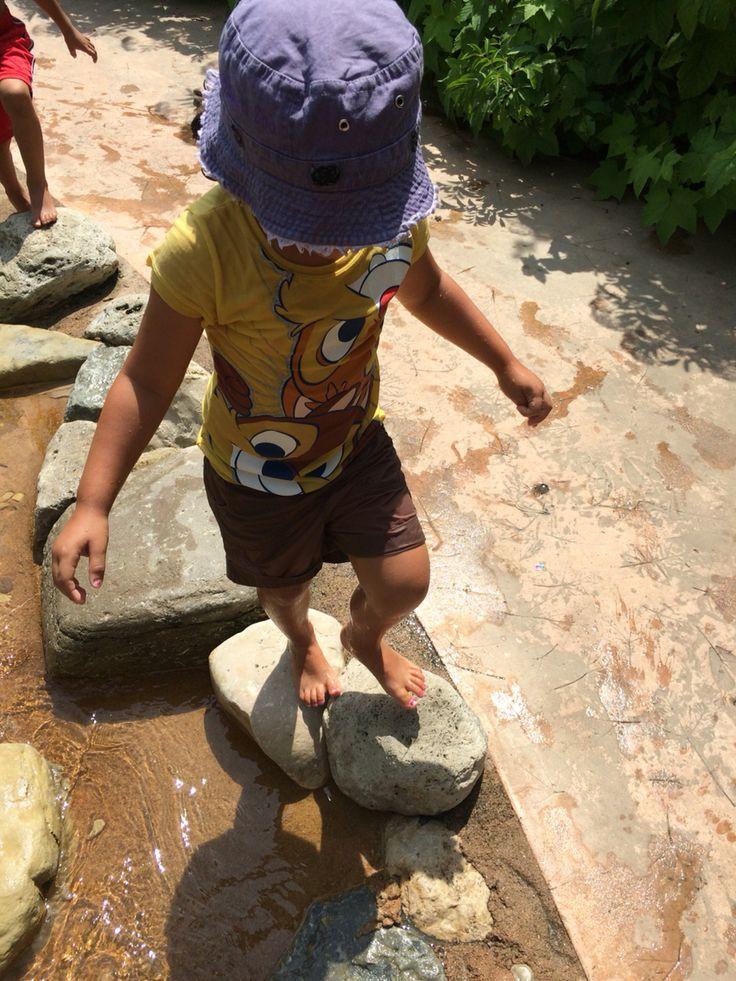 HOT SCORCHING day @ Dayton Children's Garden