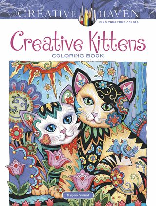 The Illustrator Of Creative Haven Cats Coloring Book Presents Another Treat For Cat Lovers And