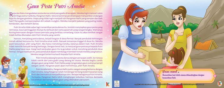 Gaun Pesta Putri Amelia