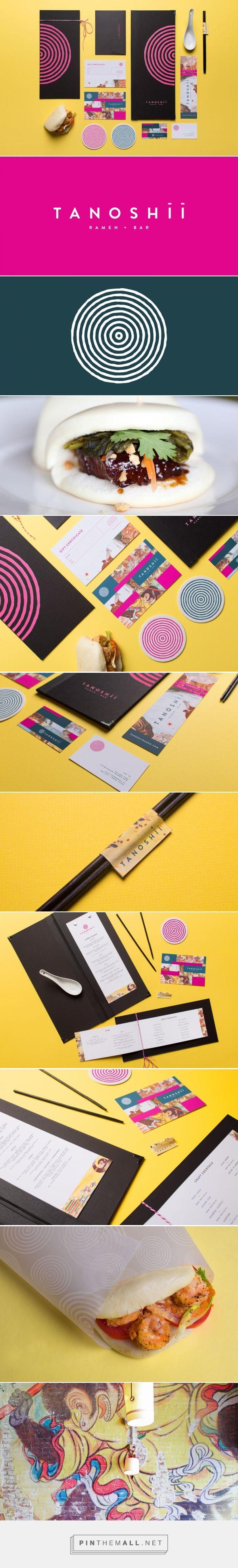 Tanoshii Ramen Restaurant Branding by Mast | Fivestar Branding – Design and…