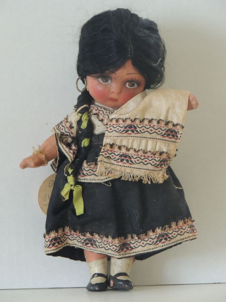 Doll from Mexico, @ late 1920 early 1930's