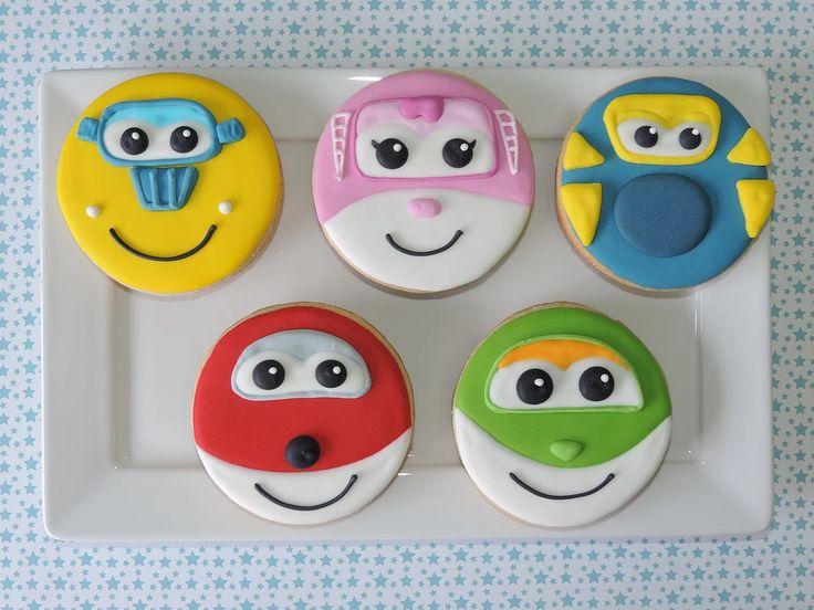 Sugar Kisses biscoitos decorados artesanalmente | Super Wings
