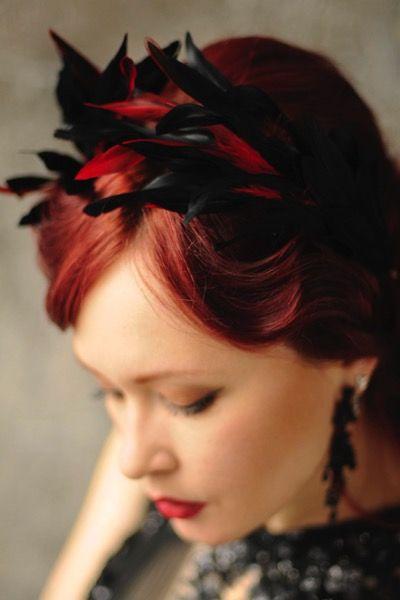 купить ободок с перьями на выпускной, ободок с фиолетовыми перьями, украшение на выпускной, аксессуары на выпускной, ободок, ободок с перьями, украшение великий гетсби, перья, украшение для прически, feather fascinator, feather headpiece, украшение для волос, украшение в волосы
