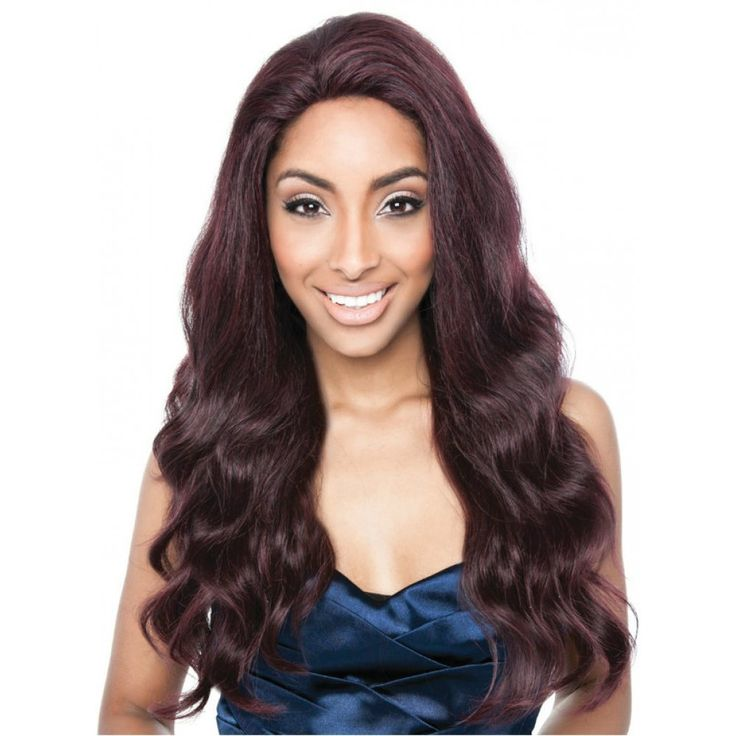Isis Collection Lace Front Wig – BS704 Stella | COLOR: WINEBLACK