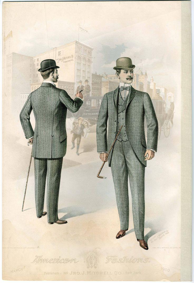 early 1900s fashion men - photo #10