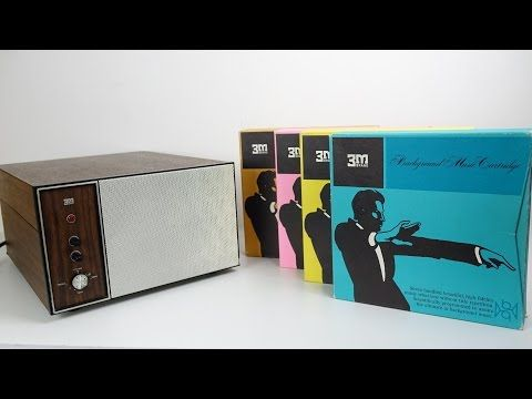 (2882) Retro Tech: This 1960s BGM Machine played the Biggest Cassettes ever made - YouTube