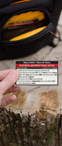 Nikon D3100 Photography Cheat Sheets - printable or viewable on i[Anything].....