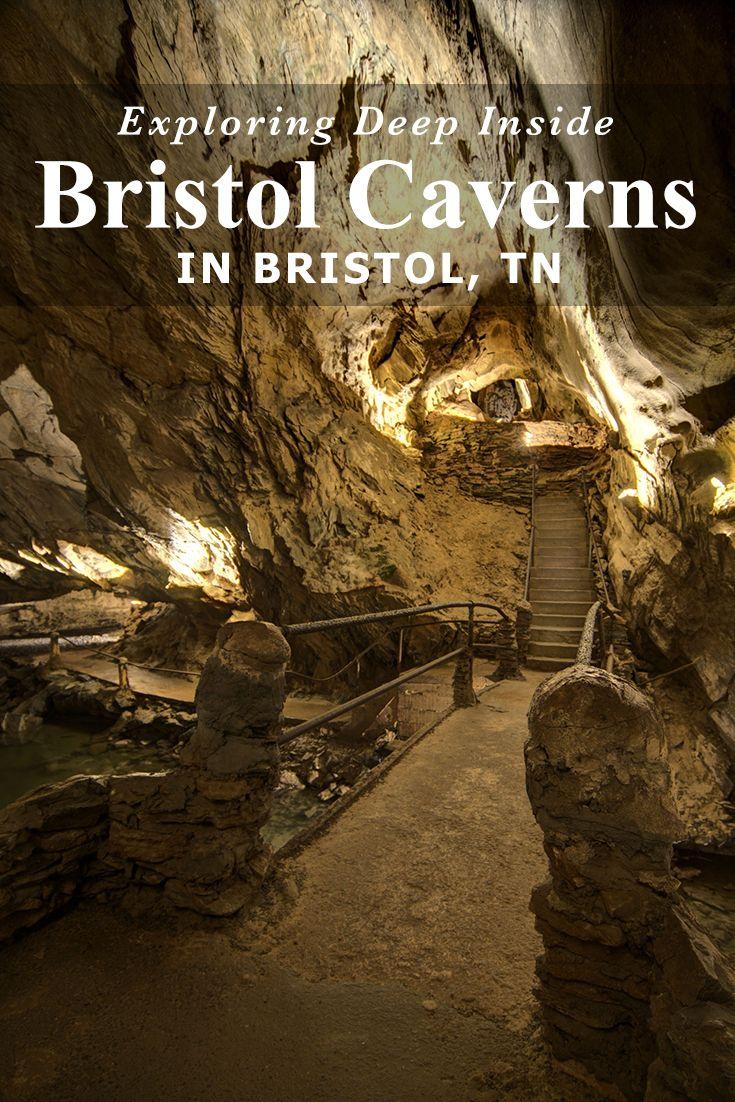 Exploring Deep Inside Bristol Caverns in Bristol, Tennessee
