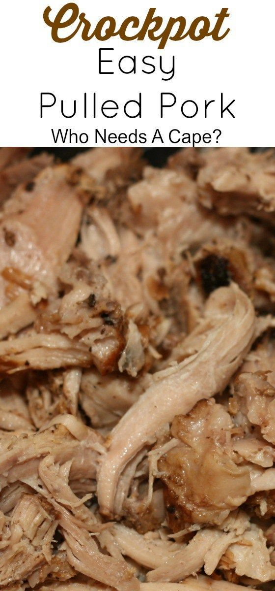 Crockpot Easy Pulled Pork is such a delicious beginning to so many great meals. From sandwiches to serving along with mashed potatoes...delish!