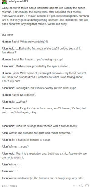 Humans Are Weird / Space Australia Belongings