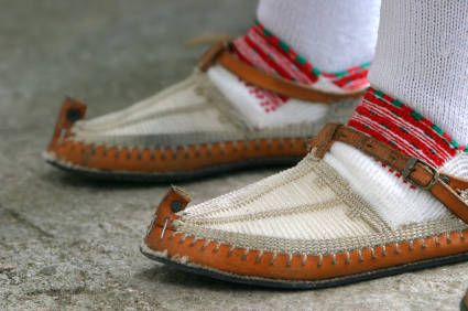 Croatian Traditional Shoes  iStockphoto/Jerko Grubisic
