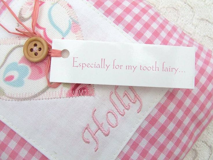 If your Tooth Fairy is as forgetful as our Tooth Fairy then this door hanger is for you! The personalised tooth fairy cushion measures approximately 20cm x 20cm, has a pocket on the front to hold a message to the Tooth Fairy and is perfect for hanging on your childrens door handle to serve as a gentle reminder! The Tooth Fairy will never forget to visit again.. yipee! $20.97