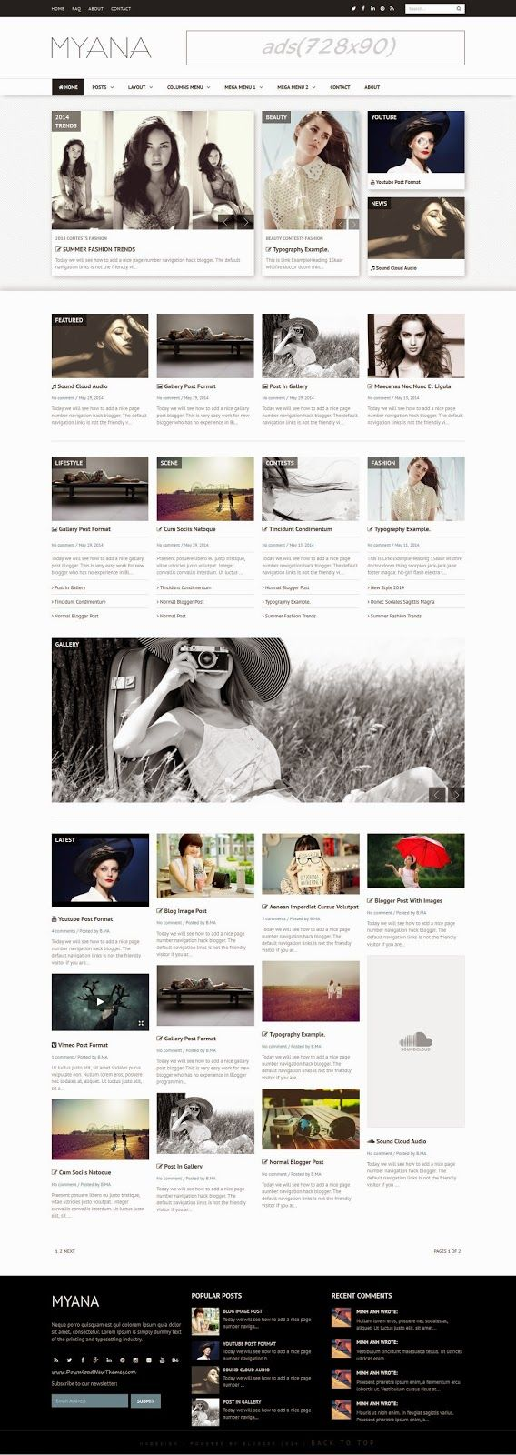 12 best Blogger Templates images on Pinterest | Blogger templates ...