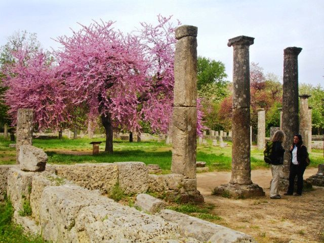 Friday vibes call for a weekend trip in Ancient Olympia!