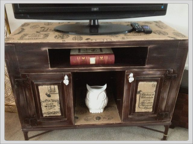 I've had this television stand forever. It has great bonesand even the… :: Hometalk