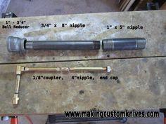 venturi burner propane | how to build a gas forge burner