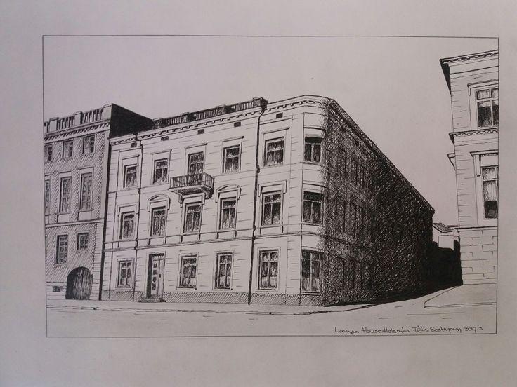Lampa Building-Michelin star restaurant OLO, Helsinki