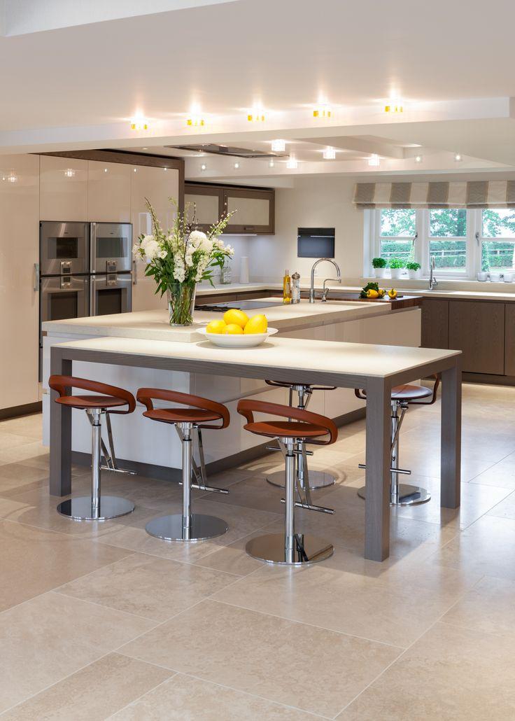 Die besten 25+ Halbinsel Küche Design Ideen auf Pinterest Küchen - offene wohnkuche mit wohnzimmer