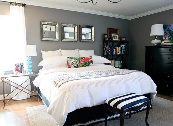 Design Studio B: More Gray Bedroom Love.