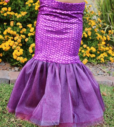 Little Mermaid Costume Tutorial | My Crafty Spot - When Life Gets Creative