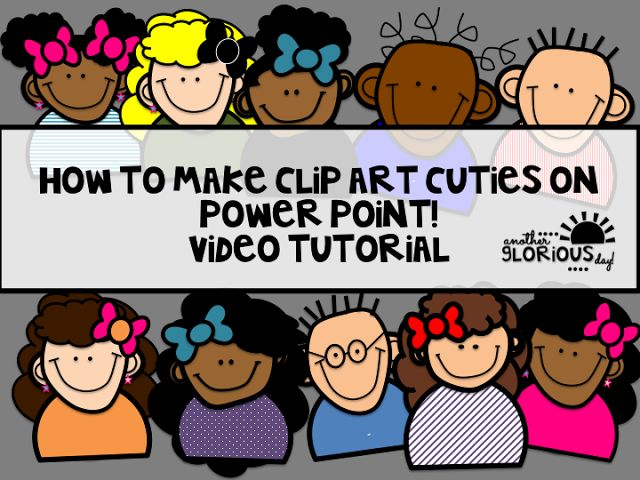 How to Make Clip Art on Power Point! (Video Tutorial) | Mrs. Tabb @ First Grade Awesomeness | Bloglovin'