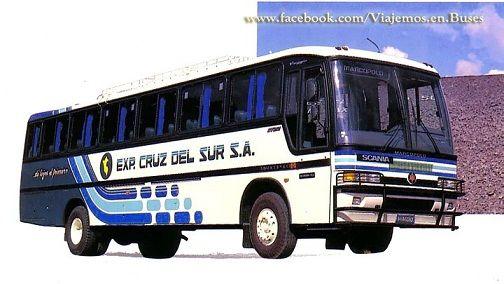 BUS MARCOPOLO GV VIAGGIO DE CRUZ DEL SUR