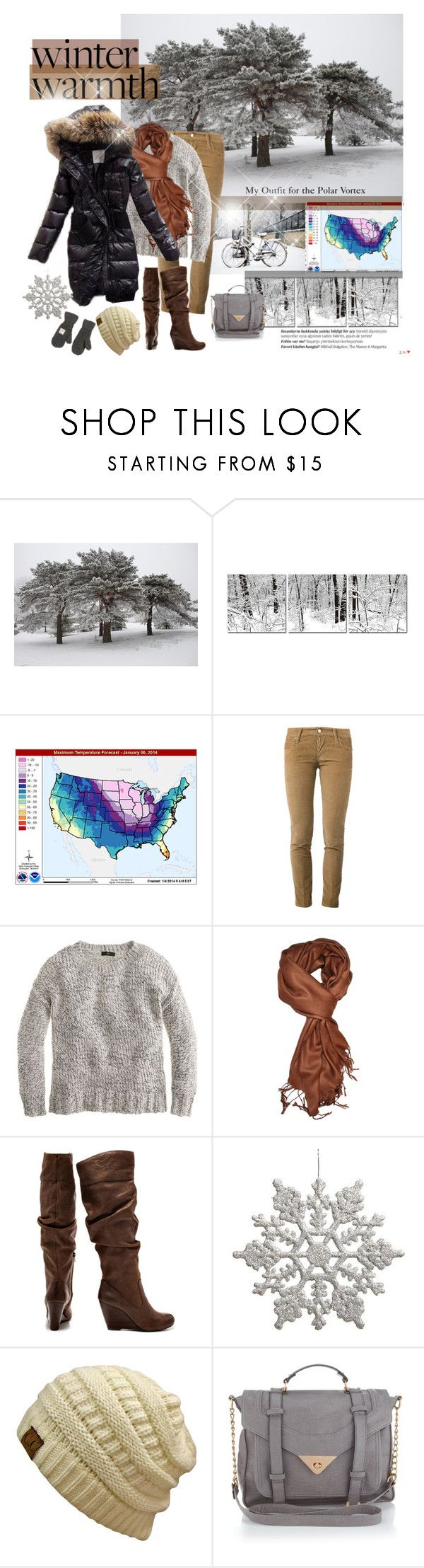 """""""Polar Vortex .....The Big Chill"""" by joannahdawn ❤ liked on Polyvore featuring Balmain, Stockdale, Dsquared2, J.Crew, Jessica Simpson, Lipsy and Superdry"""