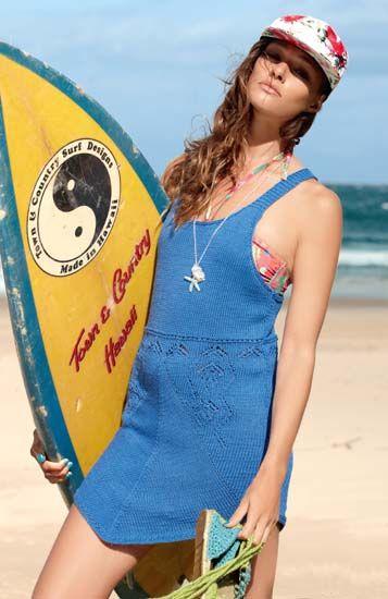 Пляжный сарафан - схема